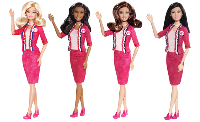 barbie-president-doll