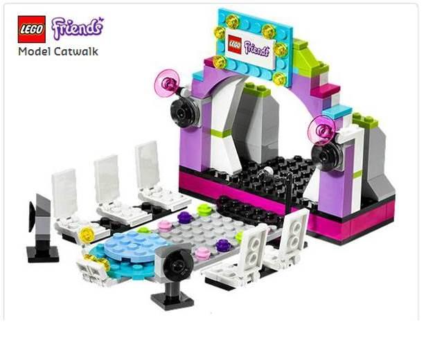 Lego pasarela