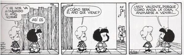Mafalda el año que viene